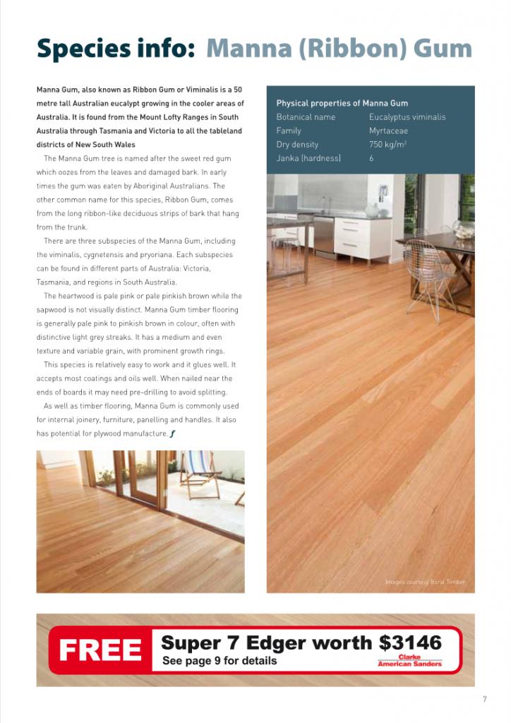 Manna Gum Timber Flooring Sydney