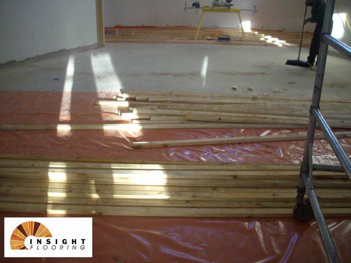 Installation Timber Flooring Over Battens Insight Flooring