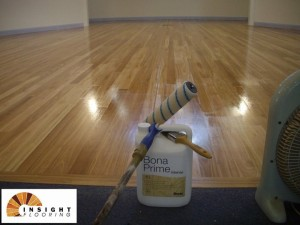 Installation Timber Flooring Over Battens Middle Cove School Hall Sydney